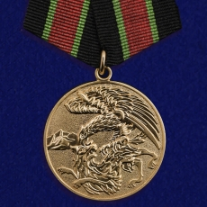 """Медаль """"За контртеррористическую операцию на Кавказе"""" фото"""