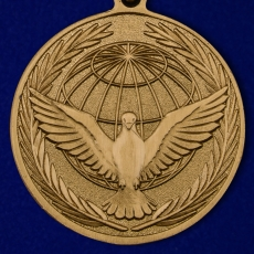 """Медаль """"Участнику миротворческой операции"""" фото"""