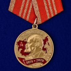 """Медаль """"В ознаменование 150-летия со дня рождения В.И. Ленина""""  фото"""