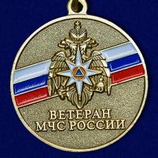 """Медаль """"Ветеран МЧС России"""" фото"""