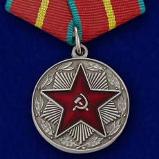 """Медаль """"За безупречную службу"""" ВС СССР 1 степени (муляж) фото"""