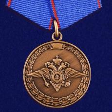 Медаль За доблесть в службе МВД фото