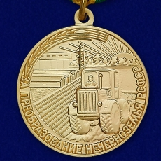 """Медаль """"За преобразование Нечерноземья РСФСР"""" фото"""