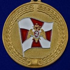 """Медаль Росгвардии """"За Содействие"""" фото"""