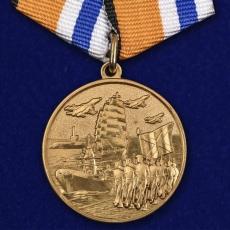 """Медаль """"За участие в Главном военно-морском параде"""" фото"""