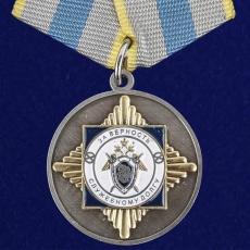 """Медаль """"За верность служебному долгу"""" СК РФ фото"""