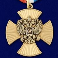 Медаль За заслуги (крест с накладным орлом РФ)
