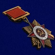 Орден Великой Отечественной войны 1 степени (на колодке) фото
