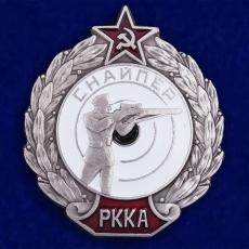 "Нагрудный знак ""Снайпер РККА"" фото"