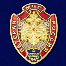 """Нагрудный знак """"Ветеран МЧС России"""" фото"""