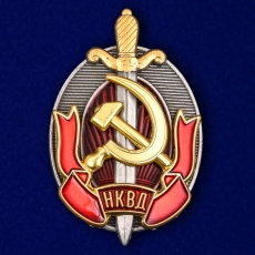 """Знак """"Заслуженный работник НКВД"""" фото"""