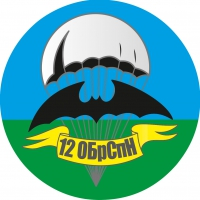 """Наклейка """"12 ОБрСпН"""""""