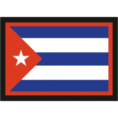"Наклейка ""Флаг Кубы"" фото"