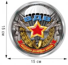 """Наклейка """"Медаль ВДВ"""" фото"""
