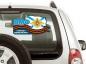 """Наклейка на авто """"Военно-морской флот России"""" фотография"""