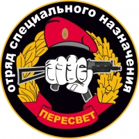 Наклейка Спецназ ВВ Пересвет