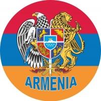 Наклейка флаг Армении