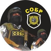 Наклейка «СОБР-МВД»