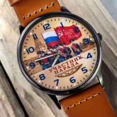 Наручные часы «Участник парада Победы» фото