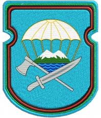"""Нарукавный знак ВДВ """"629-й отдельный инженерно-сапёрный батальон 7-ой ДШД"""" фото"""