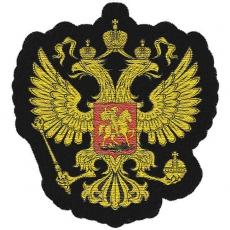 Нашивка Двуглавый орёл фото