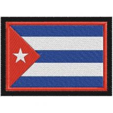 Нашивка Флаг Кубы фото