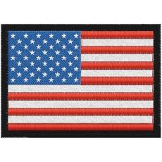 Нашивка флаг США фото