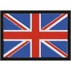 Нашивка Флаг Великобритании фото