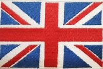 "Нашивка ""Флаг Великобритании"""
