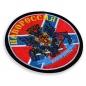 Нашивка с флагом Новороссии фотография