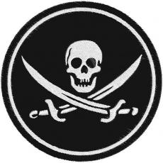 """Нашивка """"Пират сабли"""" фото"""