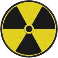 Нашивка Радиация