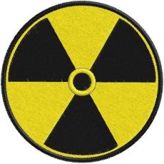 Нашивка Радиация фото