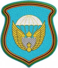 Нашивка с эмблемой 106 гв. ВДД фото