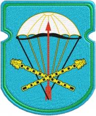 """Нашивка ВДВ """"116-й отдельный парашютно-десантный батальон 31 гв. ОДШБр"""" фото"""
