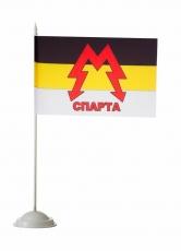 "Настольный флаг батальона ""Спарта"" фото"