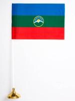 Настольный флаг Республики Карачаево-Черкесия