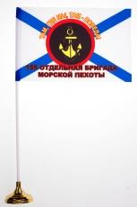 Настольный флажок «155 бригада Морской Пехоты» фото