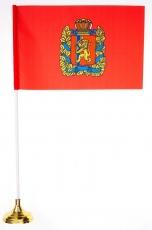 Настольный флажок Красноярского края фото