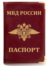 Обложка на паспорт с гербом МВД России фото