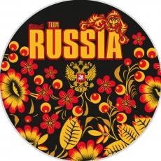 Наклейка RUSSIA фото