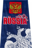 "Полотенце ""RUSSIA"" двуглавый орёл"
