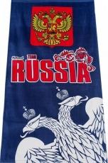 "Полотенце ""RUSSIA"" двуглавый орёл фото"