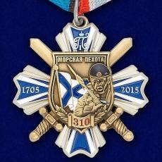 """Орден """"Морская пехота - 310 лет"""" (на колодке) фото"""