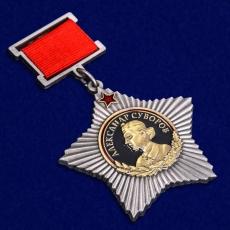Орден Суворова I степени (на колодке) фото