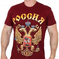 """Футболка """"герб России"""" фото"""