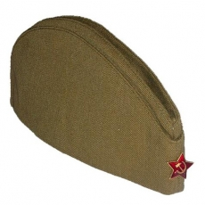 Советская пилотка на 9 мая со звездой