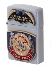 """Подарочная зажигалка """"100 лет Военной разведки"""" фото"""