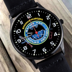 Подарочные наручные часы Военному разведчику фото