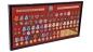 """Планшет """"Награды СССР"""" (92,0x46,0 см) со стеклянной крышкой. В комплекте - 53 муляжа орденов и медалей, вручавшихся в период ВОВ фотография"""